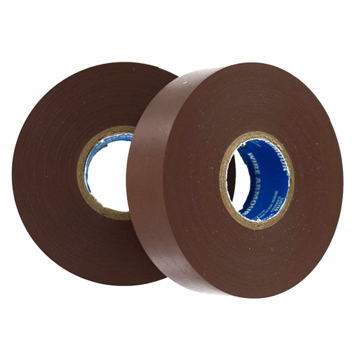 Ideal 46-35-BRN Wire Armour Professional Vinyl Electrical Tape, Brown