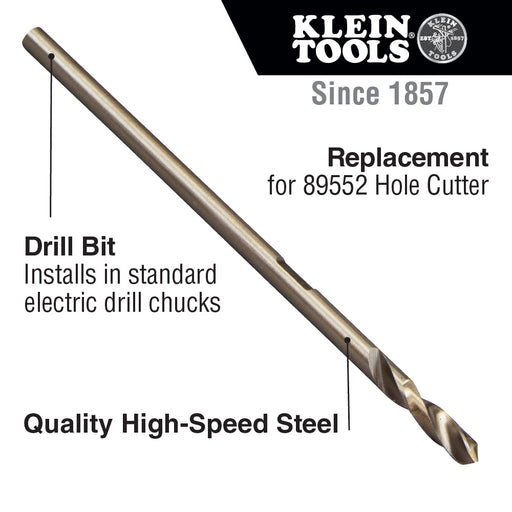 Klein Tools 89551 Hole Cutter Replacement Bit for Klein Tools Hole Cutter Cat. No. 89552 Cuts 2 to 12-Inch