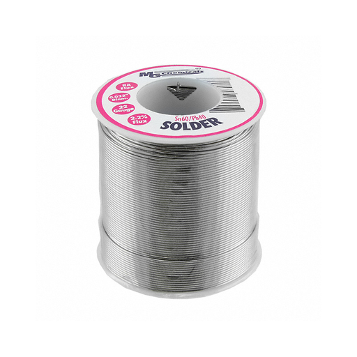 "MG Chemicals 4895-454G Sn60/Pb40 Rosin Core Leaded Solder 0.032"" Diameter 1 lbs Spool"