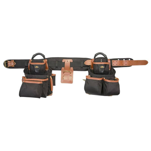 CLC 51452 4 Piece Top-Of-The-Line Pro Framer's Combo Tool Belt