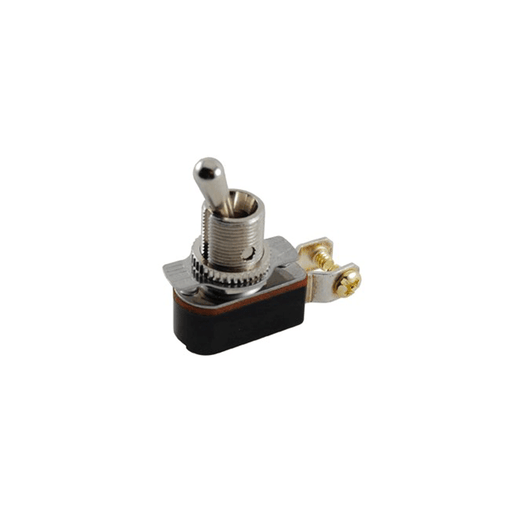 NTE Electronics 54-071 SPST On-Off Medium Duty Toggle 6A Screw Terminal