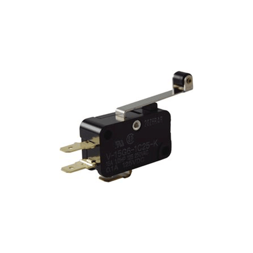 NTE Electronics 54-400 Miniature Snap Action Switch with Roller Actuator