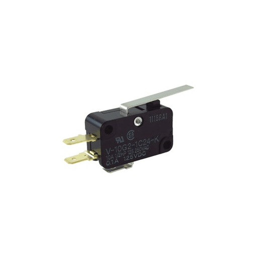 NTE Electronics 54-402 Miniature Snap Action Switch with Simulated Roller Actuator