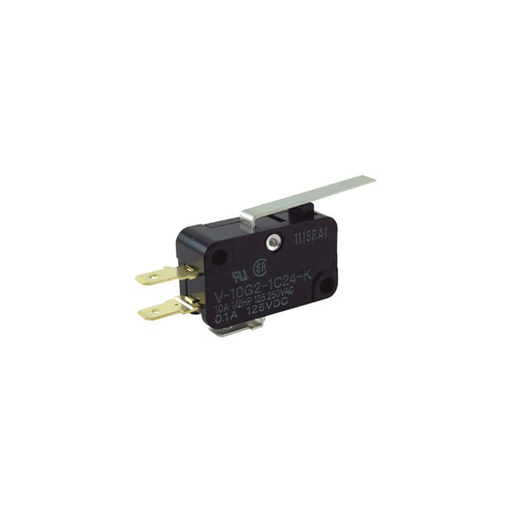 NTE Electronics 54-403 Miniature Snap Action Switch with Lever Actuator