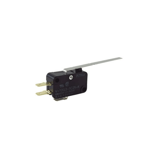 NTE Electronics 54-404 Miniature Snap Action Switch with Pin Plunger Actuator