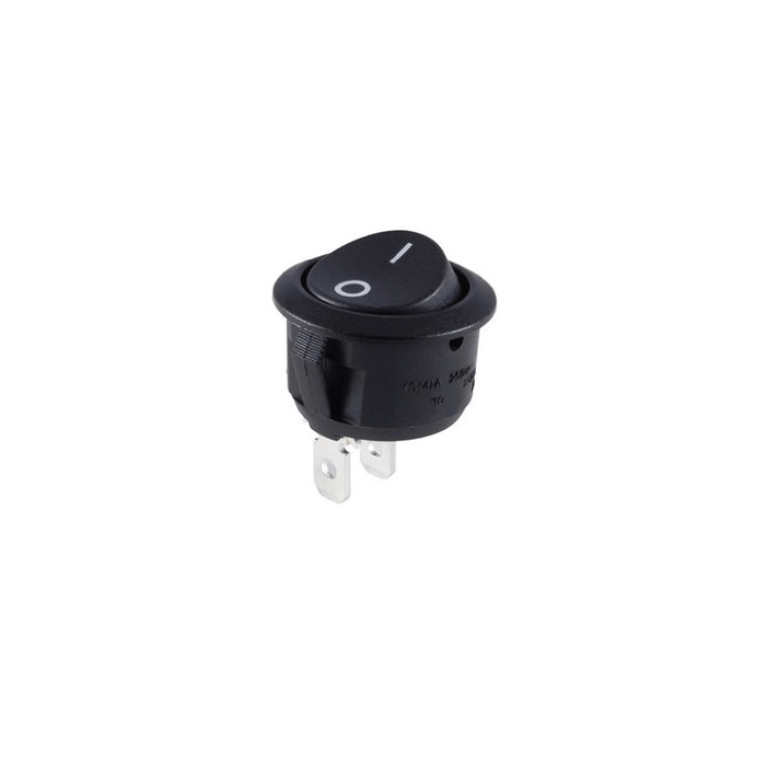 NTE Electronics 54-505 Snap-In Round Hole Rocker Switch without Legend SPDT Circuit