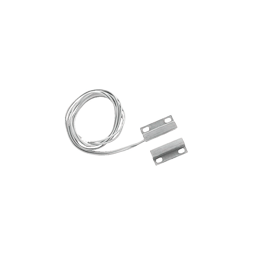 NTE Electronics 54-630 Magnetic Alarm Reed Switch SPST-NO Circuit, NO for Closed Loop System Action Magnet Actuator White