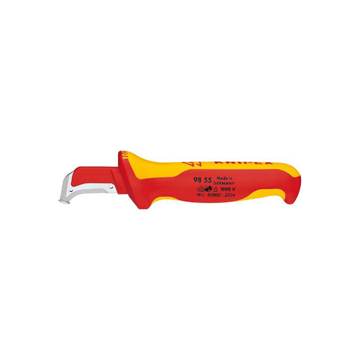 Knipex 98 55 SB 1,000V Insulated Dismantling Knife