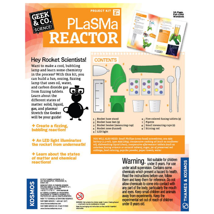 Thames and Kosmos 550012 Plasma Reactor