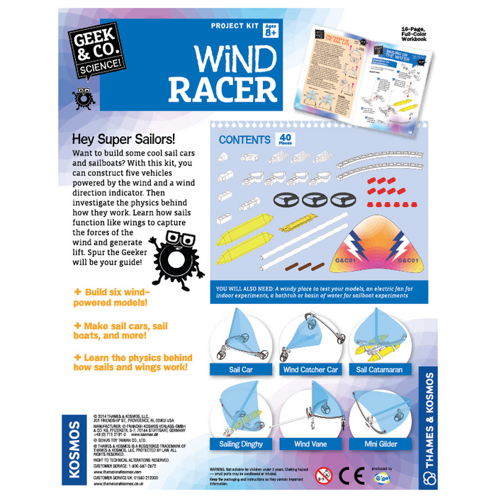 Thames and Kosmos 550016 Wind Racer