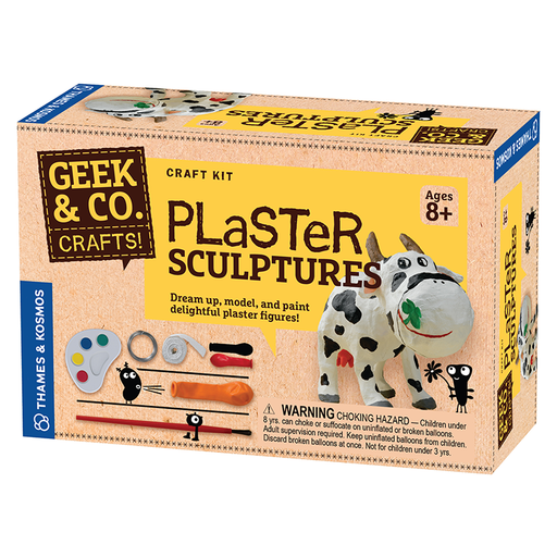 Thames and Kosmos 553005 Craft Plaster Sculptures