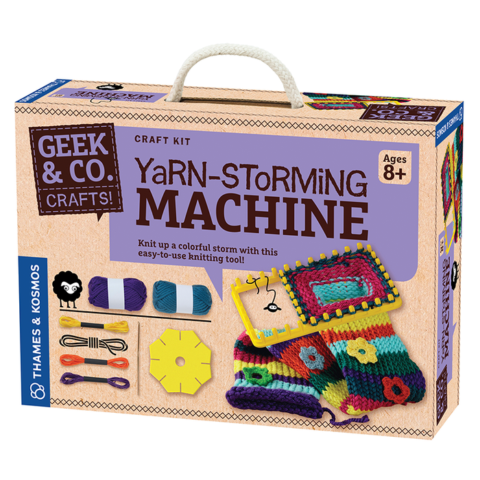 Thames and Kosmos 553006 Craft Yarn-Storming Machine