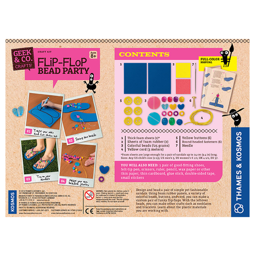 Thames and Kosmos 553009 Flip-Flop Bead Party