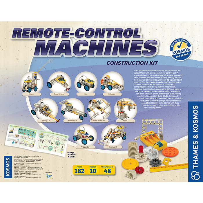 Thames and Kosmos 555004 Remote-Control Machines