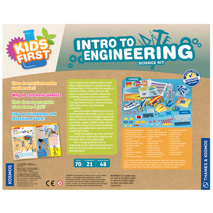 Thames and Kosmos 567002 Intro to Engineering