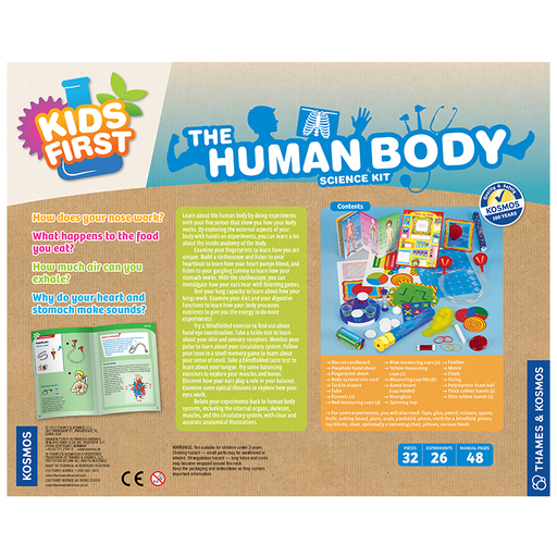 Thames and Kosmos 567003 The Human Body