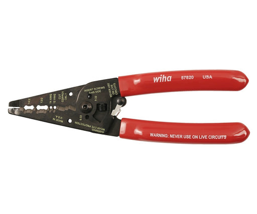 Wiha 57820 Wire Strippers Dual NM-B Cable 7.75""