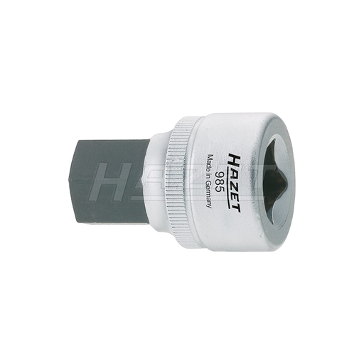 "Hazet 1/2"" Drive Hex Screwdriver Socket, HZ985-14"