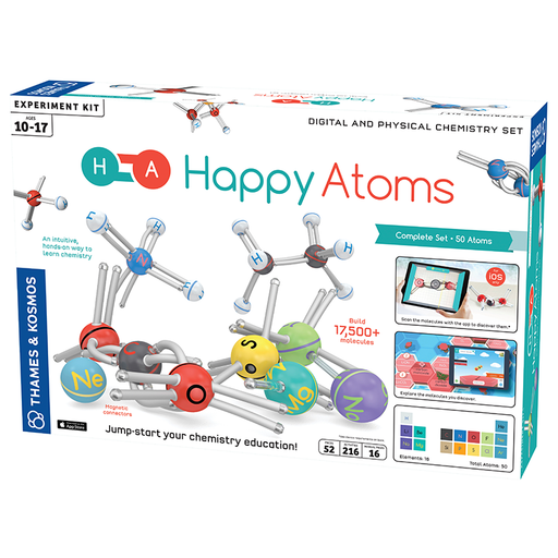 Thames and Kosmos 585001 Happy Atoms Complete Set