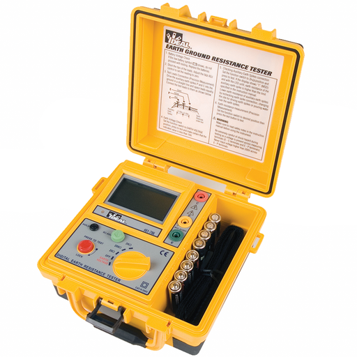 Ideal 61-796 Earth Ground Resistance Tester, 3-Pole