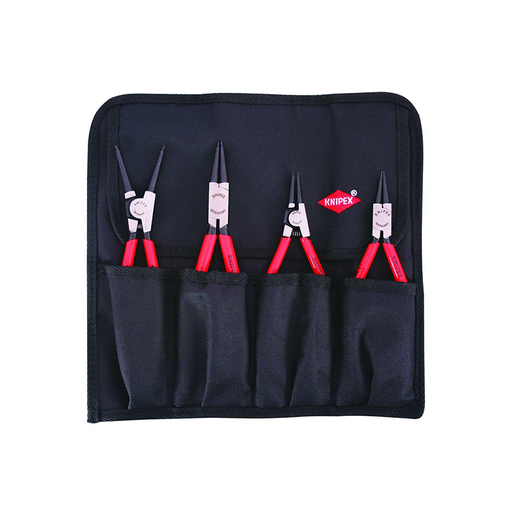 Knipex 9K 00 19 51 US Circlip Snap-Ring Pliers Set in Pouch, 4 Piece