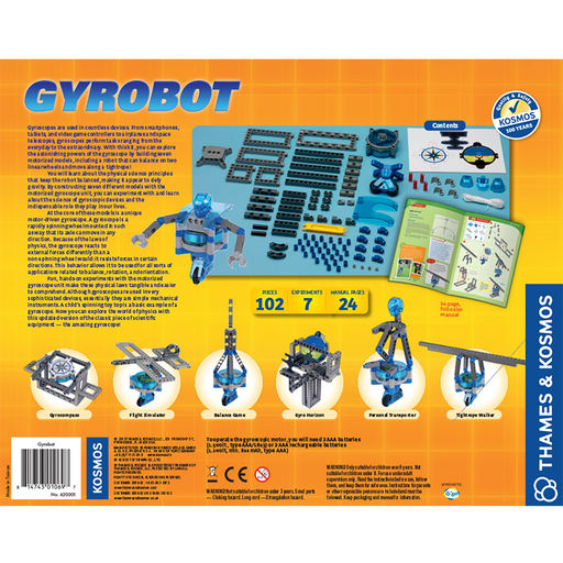 Thames and Kosmos 620301 Gyrobot-Gyroscopic Robot Kit