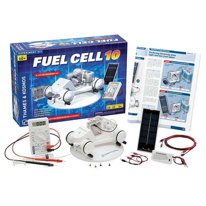 Thames & Kosmos 620318 Alternative Energy and Environmental Science Fuel Cell 10