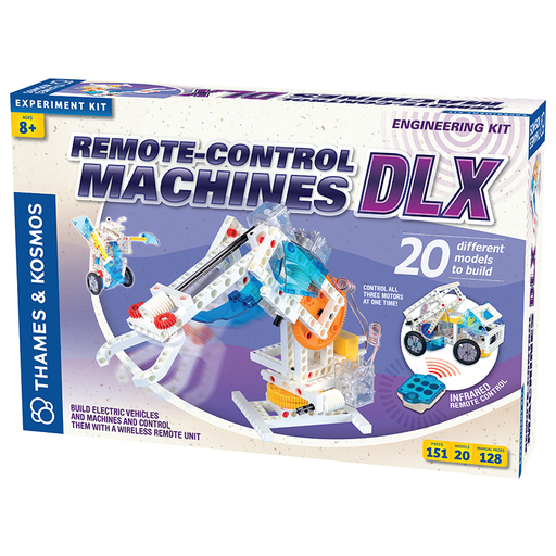 Thames and Kosmos 620370 Remote-Control Machines DLX