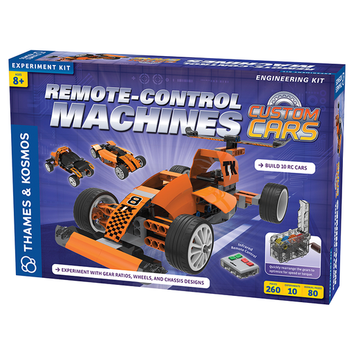 Thames and Kosmos 620376 Remote-Control Machines: Custom Cars with Configurable Gear Box
