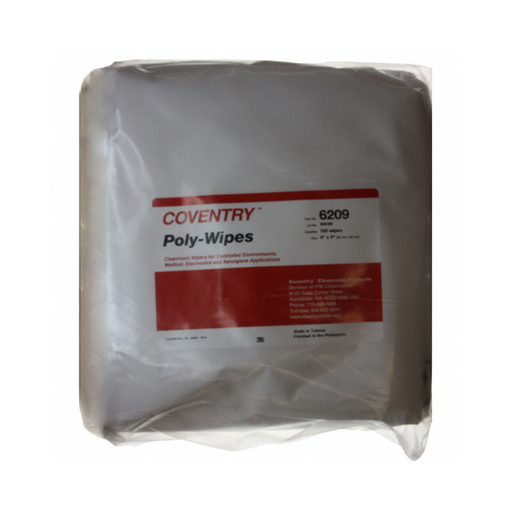 Chemtronics 6209 Coventry Poly-Wipes, 150 Wipes