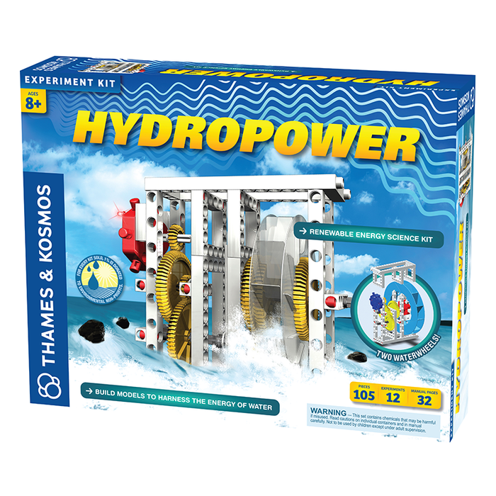 Thames and Kosmos 624811 Alternative Energy and Environmental Science Hydropower