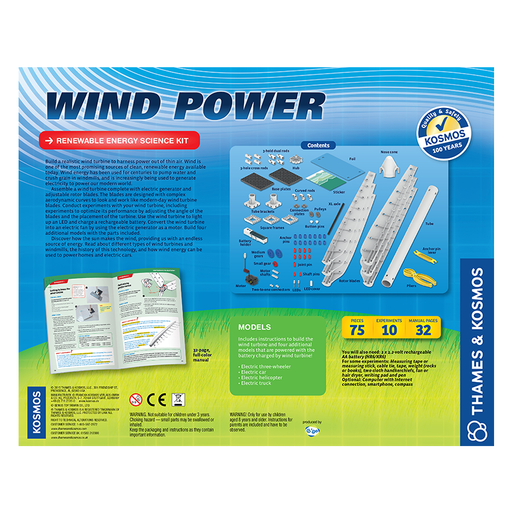 Thames & Kosmos 627928 Wind Power (V 3.0) Science Kit