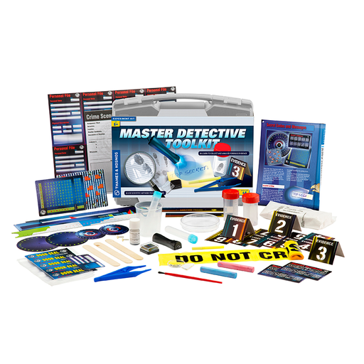 Thames and Kosmos 630912 Master Detective Toolkit