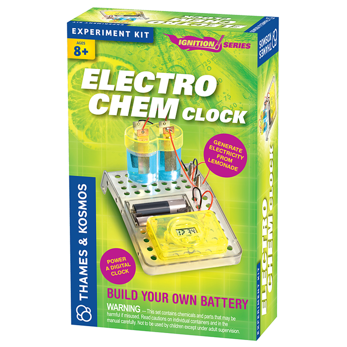 Thames and Kosmos 659073 Electro Chem Clock Science Kit