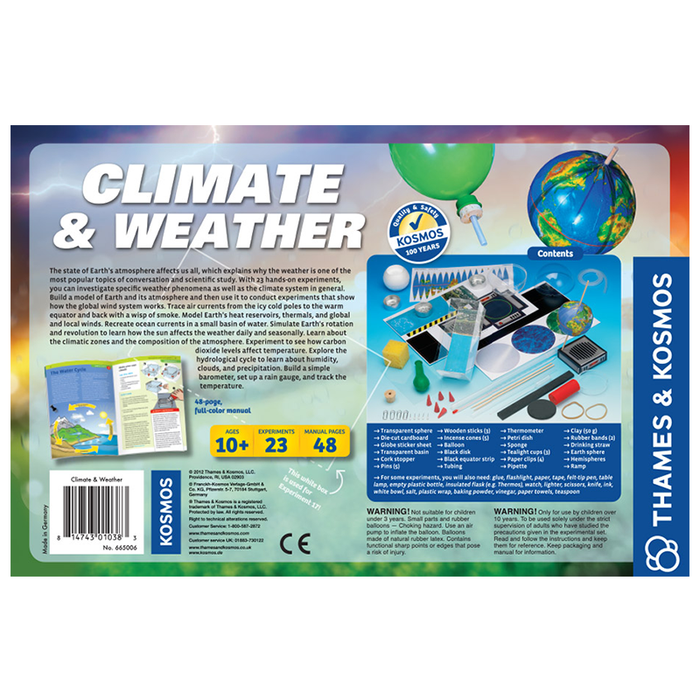 Thames and Kosmos 665006 Climate and Weather