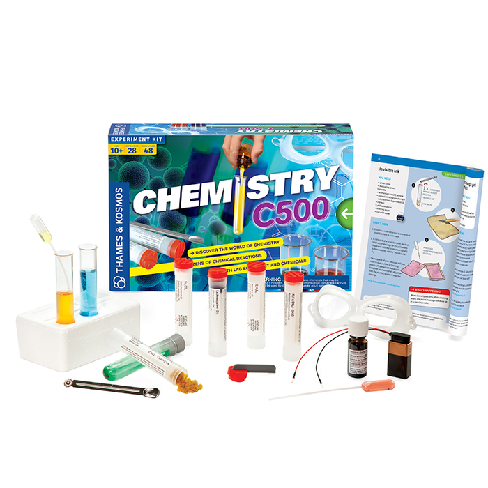 Thames and Kosmos 665012 Chemistry Chem C500