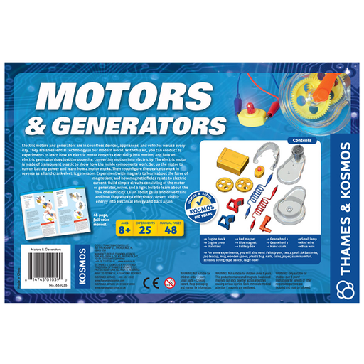 Thames and Kosmos 665036 Motors and Generators