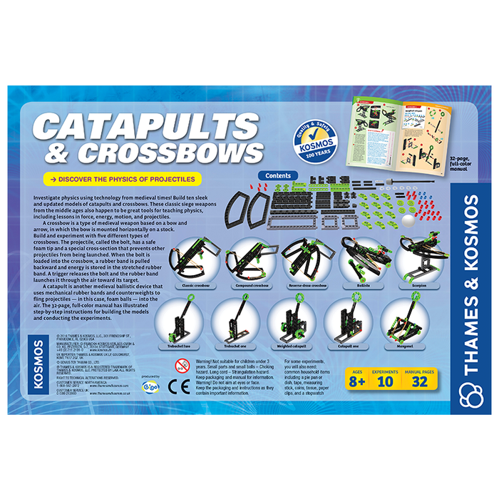 Thames and Kosmos 665107 Catapults & Crossbows Science Kit