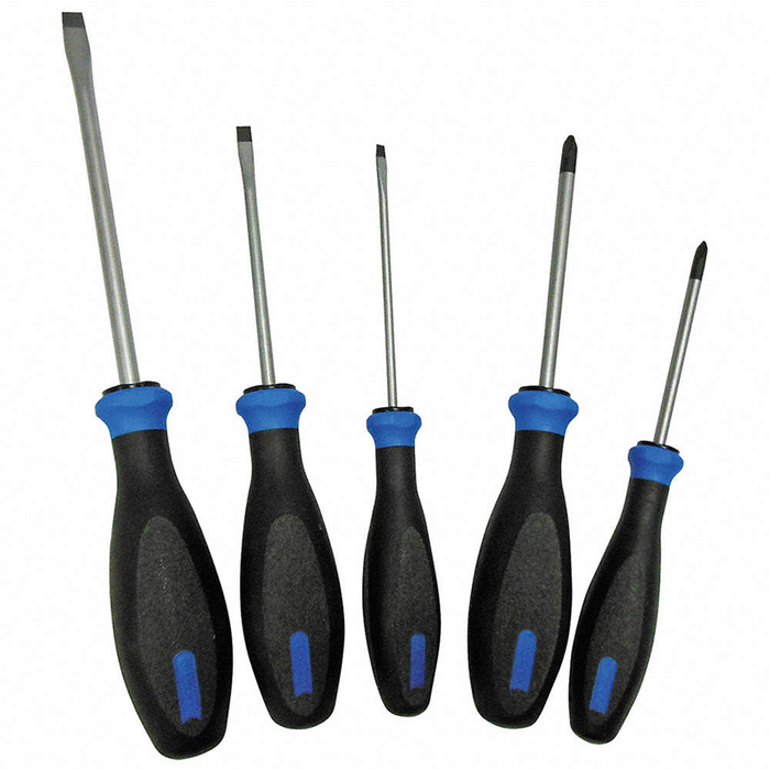 Witte 670045 Protop II Plus Slotted and Phillips Screwdriver Set, 5 Piece