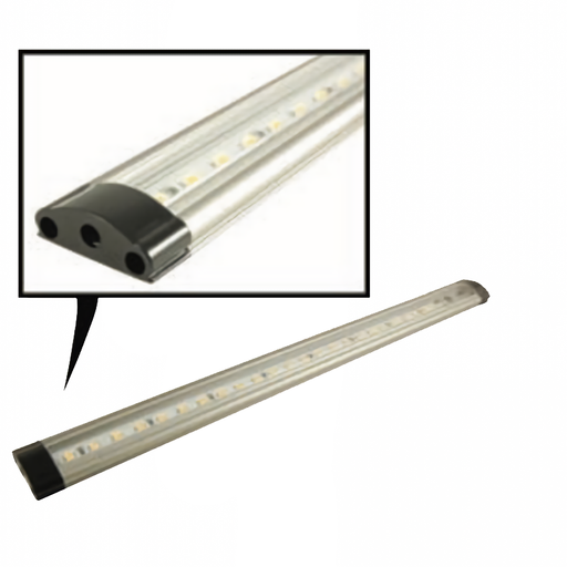 NTE 69-LL-15BU Touch-Sensitive Dimmable LED Light Bar, Clear Warm White, 300mm
