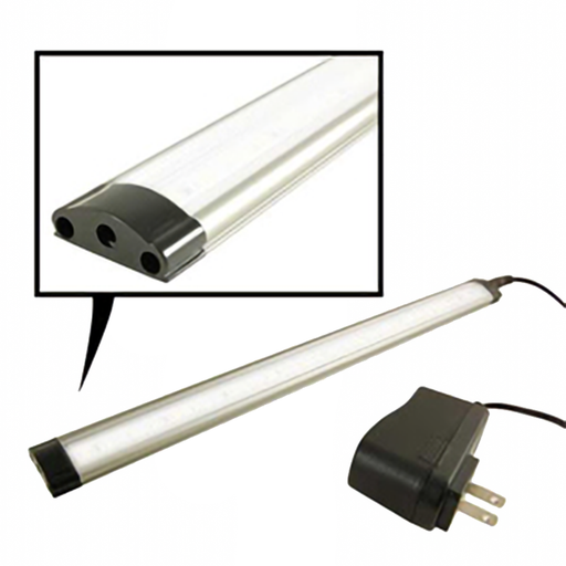 NTE 69-LL-16F Touch-Sensitive Dimmable LED Light Bar, Frosted White, 300mm