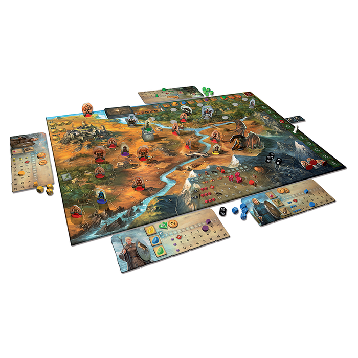 Thames and Kosmos 691745 Legends of Andor Board Game