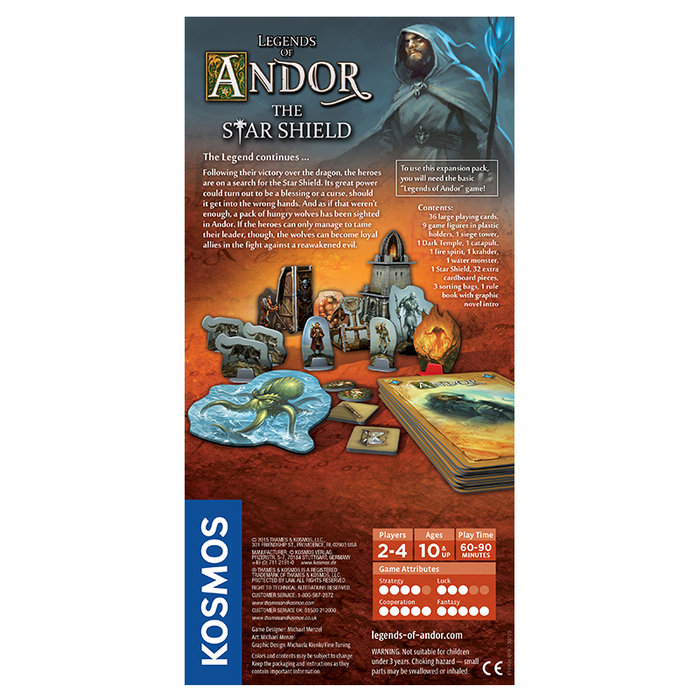 Thames and Kosmos 691936 Legends of Andor: Star Shield