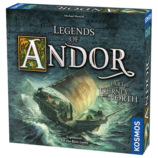 Thames and Kosmos 692346 Legends of Andor: Journey to The North Expansion Pack
