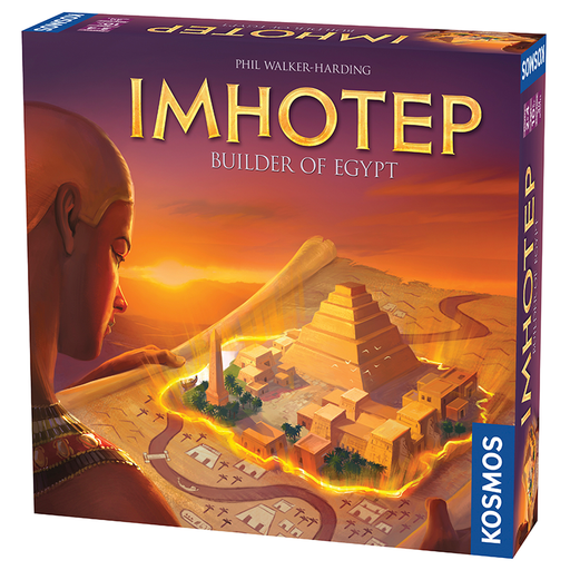 Thames and Kosmos 692384 Imhotep Builder of Egypt Board Game