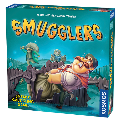 Thames and Kosmos 692544 Smugglers Family Board Game