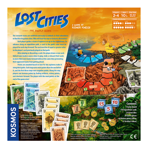 Thames and Kosmos 696175 Lost Cities - The Board Game