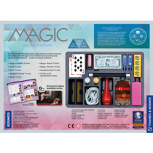 Thames and Kosmos 698225 Magic: Silver Edition