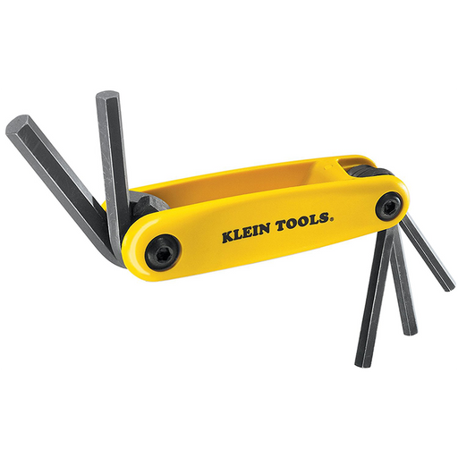 Klein Tools 70570 Grip-It Hex Five Key Fold-up Driver