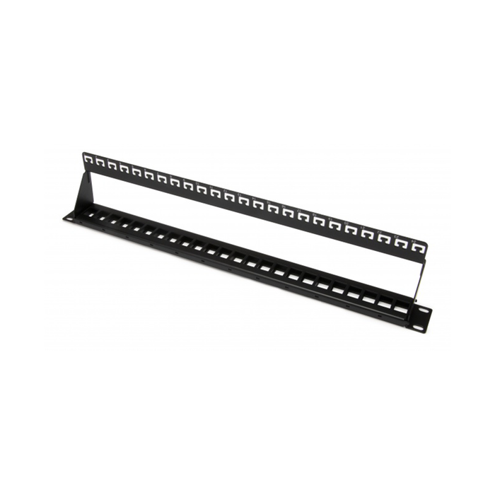 Platinum Tools 641-24U Unloaded Patch Panel, 24 Port, Unshielded